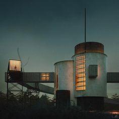 Chernikov on Behance Conceptual Architecture, Constructivism, Willis Tower, Amsterdam, Ceiling Lights, Building, Illustration, Photography, Behance