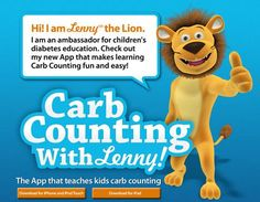"diabetic carb counting chart | Kids With Diabetes Can ""Count Carbs With Lenny"" - Better Health"