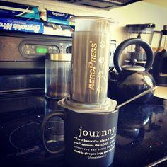 Life changing  #aeropress #realcoffee http://ift.tt/1Vbg53z