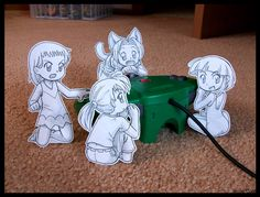 Paper Child: Bonus Stage REDO by Pimmy on deviantART
