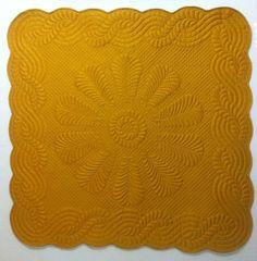 Quilted Wholecloth Wall Hanging  Aur Cymru by lynndalou on Etsy, $450.00