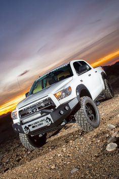 "Customers often ask about the Toyota Tundra that is featured in many of ICI's ads. Here is a list of all the upgrades that have been made: 2013 Toyota Tundra Crew Max:  4.0""/2.0"" ReadyLIFT Su…"