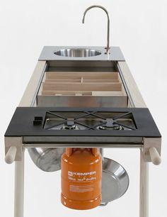 Critter: Cocina móvil por Elia Mangia