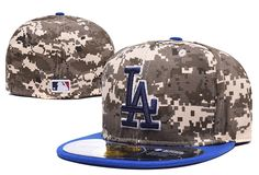 MLB Los Angeles Dodgers New Era Fitted Hats Size Caps
