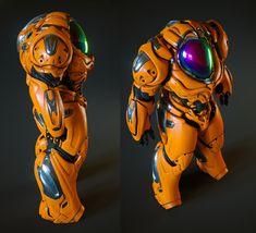 ArtStation - Shading Studies , Grant Warwick Robot Concept Art, Armor Concept, Weapon Concept Art, Futuristic Armour, Futuristic Art, Arte Robot, Robot Art, Superhero Design, Robot Design