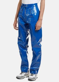 Pvc Pants, Pvc Trousers, Vinyl Trousers, Plastic Pants, Harem Pants, Leather Fashion, Leather Men, Vinyl Skirting, Vinyl Clothing