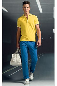 This season is all about yellow! Zegna S/S 2012