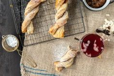 Lehtevät viikunakierteet Joko, Cinnamon Sticks, Baked Goods, Spices, Food And Drink, Bread, Baking, Breakfast, Drinks