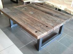 Industrial Barn Board Coffee Table The Pipe We And Industrial