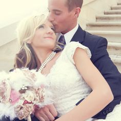 A glamourous pink wedding with tons of DIY details!