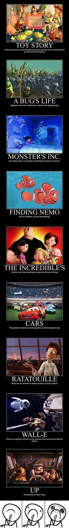Pixar movies are the best!