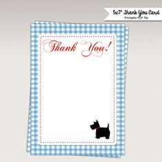 Wizard of Oz Thank You Card  Thank you Favor tags  Note by PNArt