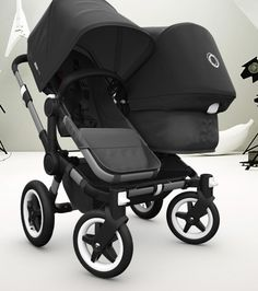Bugaboo Donkey Duo... I love my Cam! If I had two kids in strollers I would find some way to buy this