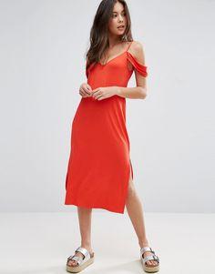 ASOS - Schulterfreies Midi-Sommerkleid - Rot Jetzt bestellen unter: https://mode.ladendirekt.de/damen/bekleidung/kleider/sommerkleider/?uid=101e9f42-afaa-54b3-9a68-b5a3fab1884f&utm_source=pinterest&utm_medium=pin&utm_campaign=boards #sale: #sale #sommerkleider #kleider #female #bekleidung Bild Quelle: asos.de