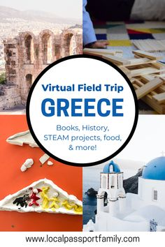 Virtual Travel, Virtual Tour, Learning Activities, Kids Learning, Greek Crafts, Virtual Field Trips, Facts For Kids, Home Schooling, Guide