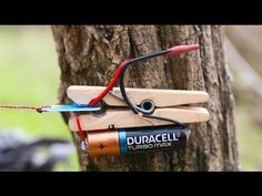 How to make a TRIP-WIRE ALARM - YouTube