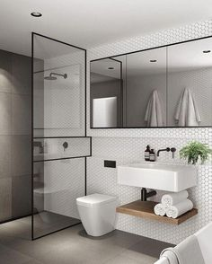 Here are the Small Scandinavian Bathroom Design Ideas. This article about Small Scandinavian Bathroom Design Ideas was posted under the … Bathroom Mirror Design, Modern Bathroom Design, Bathroom Interior Design, Bathroom Faucets, Master Bathroom, Bathroom Designs, White Bathroom, Bathroom Small, Small Elegant Bathroom