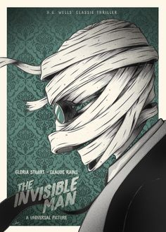 The Invisible Man (1933) [1417 x 1984]