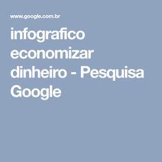 infografico economizar dinheiro - Pesquisa Google