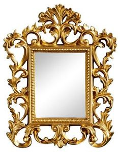 Prospect Accent Mirror, Gold