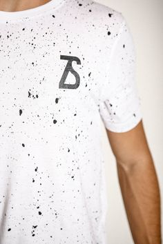 Speckle T-Shirt. All over print.  www.zerosevenclothing.com  #zeroseven #fashion #clothing