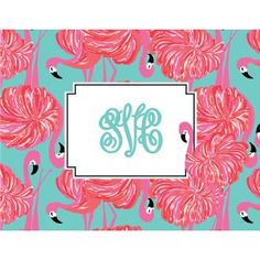 Lilly Pulitzer - Folded Note Cards - Gimme Some Leg