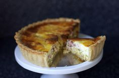 quiche lorraine by smitten kitchen. // This is my base quiche recipe that I play around with a lot. I typically use sauteed kale, caramelized onions and bacon in the filling and I find that it needs at least 6 eggs. So rich, savory and delicious!