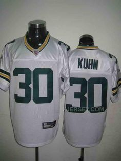 http://www.xjersey.com/packers-30-kuhn-white-jerseys.html PACKERS 30 KUHN WHITE JERSEYS Only $34.00 , Free Shipping!