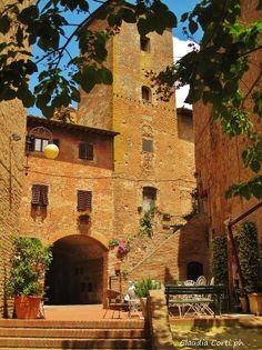 Certaldo Alto (FI), Florence province, Tuscany region, Italy