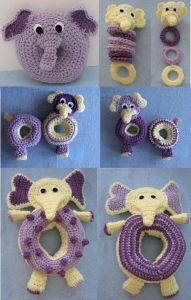 Elephant Themed Toys For Baby