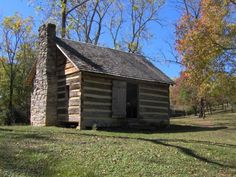 Sam Houston Schoolhouse, Maryville, TN, built 1794, via Wikipedia