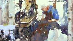 The Shoemaker, Stage 2, Watercolor Demonstration by Ev Hales