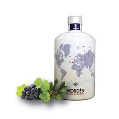 Nordés Gin, light Gin made with grapes from Galicia, north west province of Spain, just north of Portugal. Fantastic gin, smooth, perfect to introduce people to gin.