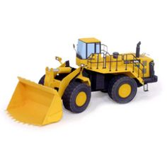 Wheel Loader - Vehicles - Paper Craft - Canon CREATIVE PARK