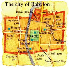 The early history of Babylon is shrouded in mystery. First mentioned in the Bible is the record of Genesis 10:8-10 which names Nimrod, the grandson of Ham, as the founder of the city in the dim prehistoric past. Its name was derived from a later experience revealed in Genesis 11 where the inhabitants of the land of Shinar, the southern portion of Mesopotamia... The Rise And Fall Of Babylon https://whatshotn.wordpress.com/2014/08/17/the-rise-and-fall-of-babylon/