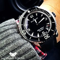 Mercredi: Blancpain Fifty Fathoms Automatique