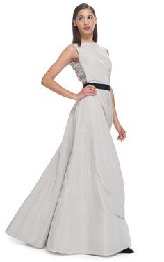 KATIE ERMILIO - Floor Length Evening Swing Skirt