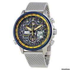Citizen Navihawk A-T Chronograph Perpetual Men's Watch voor 354€ te koop van een Trusted Seller op Chrono24