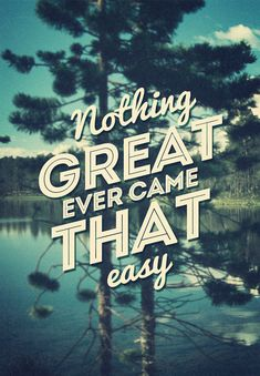 nothing great...