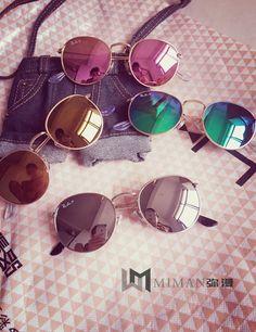 Goedkope Gepolariseerde Slim ronde framed zonnebril retro brillen spiegel lens uv400 goede kwaliteit mannen vrouwen gratis verzending, koop Kwaliteit zonnebril rechtstreeks van Leveranciers van China: