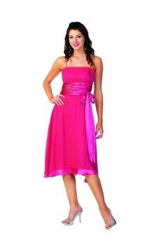 Fuchsia Knee-length Sashes/Ribbons Sleeveless Homecoming Dress HD14CD