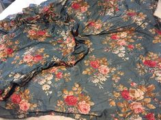 Ralph Lauren  Sinclair Queen Duvet Cover  Blue Floral EUC Button & 2 Shams   Home & Garden, Bedding, Duvet Covers & Sets   eBay!
