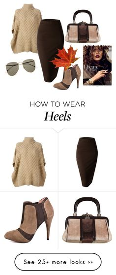 """Untitled #617"" by doinacrazy on Polyvore featuring MICHAEL Michael Kors, BCBGeneration, Roberta Di Camerino, Doublju and Gucci"