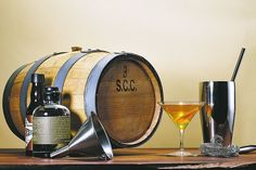 Think you can mature/infuse a better alcohol than the big boys?  Now's your chance to barrel age your favorite spirits at home.  #alcohol #recipes #drinks #cocktails #mixology