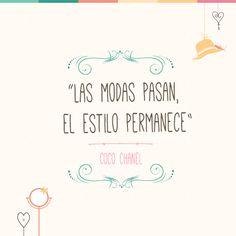 Las citas de Coco Chanel son de las mejores en todo el mundo de la moda. #CocoChanel #Quotes #Citas