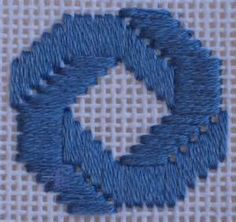 Bargello Needlepoint | ANG: American Needlepoint Guild - Stitch of the ...