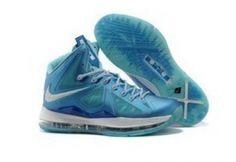 uk availability 3bc24 1634b Blue Diamond 542244 400 Nike Lebron X Sale Online