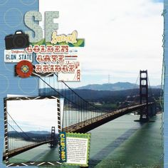 by fonnetta in Digi Chick gallery using Wm2 Great Escapes California: Golden Gate Bridge