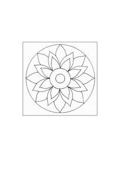 Mandala for CD art
