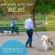 We're taking a walk with our furry friends!  Show us you and your friend walking!  #PACKhasyourBACK #MyWeekOfWalking #gethealthy #giveaway #walking #goteam #furryfriends #dogs #puppies • • • • •  What to do: 1. FOLLOW us @packhealth and like us on Facebook 2. Take a picture of you walking and tag @packhealth and #PACKhasyourBACK 3. TAG 2 friends